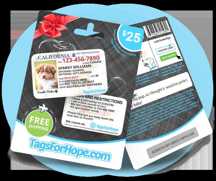 A TagsForHope Gift Card