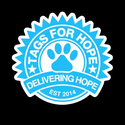 A TagsForHope sticker