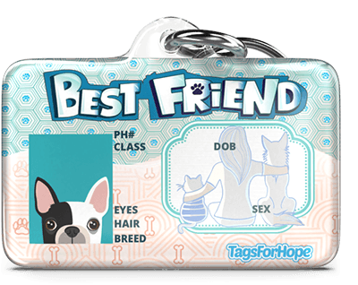 TagsForHope | Personalized Pet ID Tags for Dogs & Cats